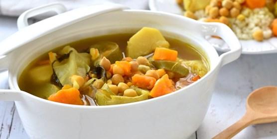 מרק ירקות מושלם לקוסקוס